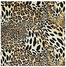 CPYang Dinner Cloth Napkins Animal Leopard Print