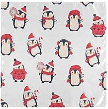 CPYang Dinner Cloth Napkins Cute Animal Christmas