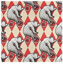 CPYang Dinner Cloth Napkins Funny Animal Bear