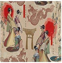 CPYang Dinner Cloth Napkins Japanese Women