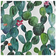 CPYang Dinner Cloth Napkins Tropical Cactus Flower