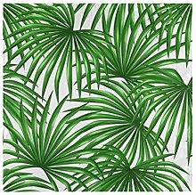 CPYang Dinner Cloth Napkins Tropical Plant Palm