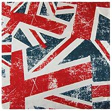 CPYang Dinner Cloth Napkins Vintage UK Flag Union