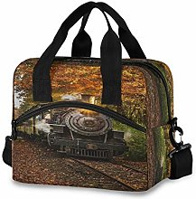 CPYang Essex Train Lunch Bag Reusable Lunch Tote