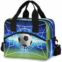 CPYang Sport Ball Football Soccer Lunch Bag