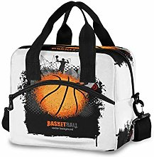 CPYang Sport Man Basketball Lunch Bag Reusable