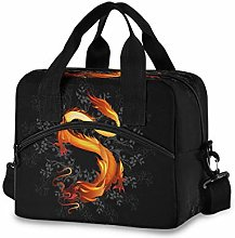 CPYang Tribal Orient Chinese Dragon Lunch Bag