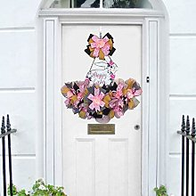 CQWW Seasonal decorative Easter door decoration