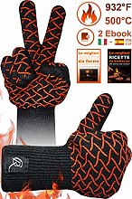 CR Essential Oven and Barbecue Gloves in Kevlar