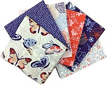 Craft Cotton Fabric Bundle Larkspur Cotton