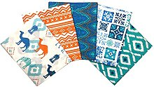 Craft Cotton Fat Quarter Fabric Bundle Camels