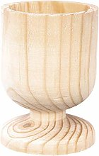 CRAFTY CAPERS Natural Untreated Wooden Egg Cup for