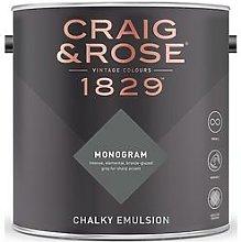 Craig & Rose 1829 Monogram Chalky Emulsion Paint -