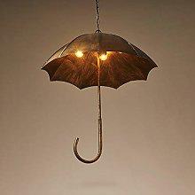 Crayom 5-Lights Creative Retro Umbrella Pendant