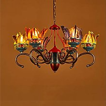 Crayom American Feather Pendant Ceiling Lamp