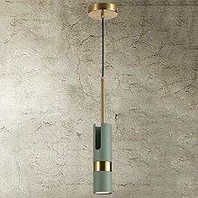 Crayom Modern Simple Long Tube Hanging Lamp