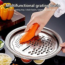 Crazerop Stainless Steel Sieve and Mixing Bowl Set