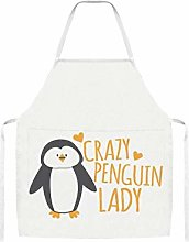 Crazy Penguin Lady Home Kitchen Cooking Grill