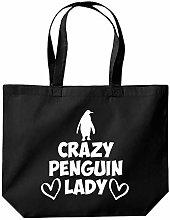 Crazy Penguin Lady Womens Ladies Funny Penguins