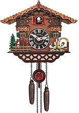 Crazyfly Cuckoo Clock Pendulum Quartz Wooden Wall