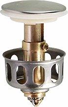 Crazyfly Universal Wash Basin Bounce Drain Filter,