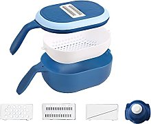 Crazyfly Vegetable Chopper Dicer with Drain