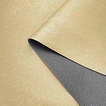 Cream Catalan 3mm Scrim Foam Backed Faux Leather