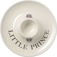 Cream Majestic Little Prince Egg Cup Saucer