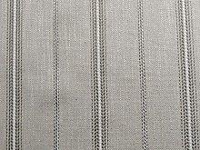 Cream Stripe Fire Retardant Upholstery Fabric by