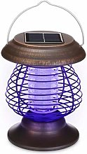 Creamon Solar Powered Mosquito Killer Lamp, 2 in 1