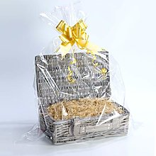 Create Your Own Wicker Gift Hamper Basket Kit Use,