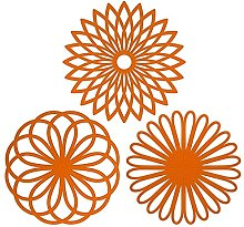 CREATESTAR Silicone Multi-Use Flower Trivet