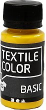 Creativ Company Textile Color, Primary Yellow