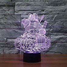 Creative 3D Desk Night Light Electronic Christmas