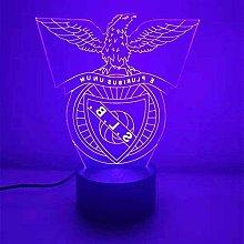Creative 3D Night Light Benfica 3D Night Light