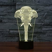 Creative 3D Table Lamp Vision Stereo Acrylic Led