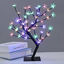 Creative 48 LED USB Cherry Plum Blossom Desk Lamp