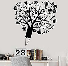 Creative Abstract Wall Sticker a Pencil Tree