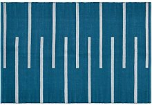Creative carpets for Indoor and Outdoor Use modern 160 x 230 blue