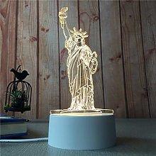 Creative Children's Cartoon Gift 3D Table Lamp