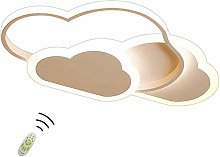 Creative Cloud Shape Ceiling Lamp with Remote