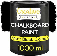 Creative Deco Black-Board Chalk-Board Paint  