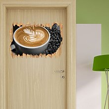 Creative Decoration on Fresh Coffee Wall Sticker
