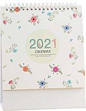 Creative Desk Calendar 2021 Standing Flip Monthly