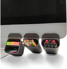 Creative DIY Screen Pencil Holder Desk Accessories