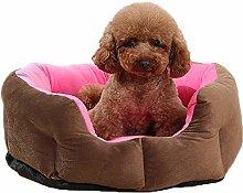 Creative Dog Cat Cuddler Kennel Round Soft Puppy