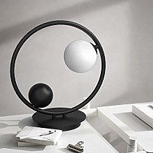 Creative Fashion Modern Metal Body Round Desk Lamp