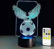 Creative flying eagle 3D night light holographic