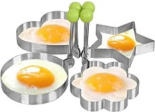 Creative Four Shapes Stainless Steel Fried Egg