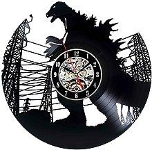 Creative Godzilla Design Decorative Vinyl Record